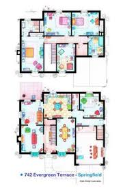 Jetsons House Floorplan reconstructed by architect Mark Bennett    Spanish artist and interior designer Iñaki Aliste Lizarralde draws these famous house and apartment floor plans as a hobby  giving the TV viewer a new
