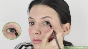 image led do cute makeup step 17