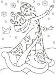 Раскраски для зимы