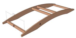 arched garden bridge plans b
