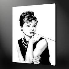 Size Audrey Hepburn Canvas Print ...