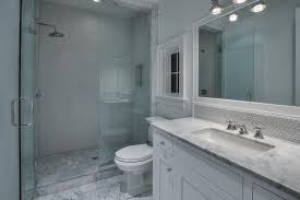 Traditional 3/4 Bathroom with Retro 11.5