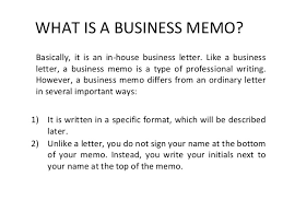 what is a business memo mba sem 2 unit 3 memo writing