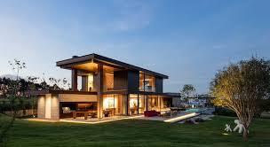 contemporary home lighting. This Rural Contemporary Home Is Designed To Take Advantage Of An Outdoor Lifestyle Lighting I