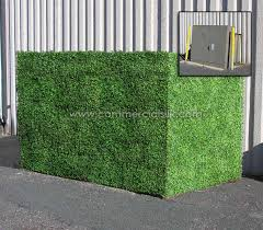 Electrical Box Before Boxwood Privacy Screen ...