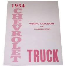 cheap truck light wiring truck light wiring deals on line at 1954 chevrolet truck pickup complete 10 page set of factory electrical wiring diagrams schematics