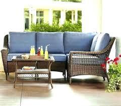 hampton bay wicker furniture home depot bay patio dining set idea wicker furniture or spring 3