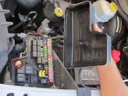 2002 2008 dodge ram 1500 fuse replacement (2002, 2003, 2004, 2005 how to remove fuses from old fuse box remove the nut and the cover of the fusebox use the inside of the fusebox