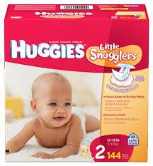 Huggies Diaper Size Chart Huggies Little Snugglers Diapers