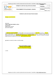 Formato De Carta De Solicitud Doc F 7 1 2 Carta De Solicitud Grado Final Nancy Cardenas