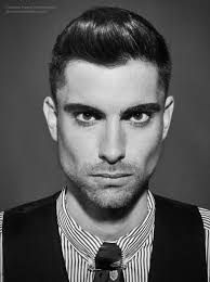 Stubble Facial Hair Style short mens haircut with clipped sides that transition into a 3310 by wearticles.com