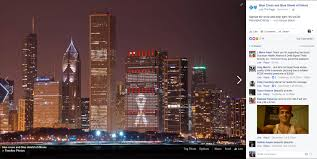 Blue Cross Blue Shield Building Lights Seven Ways That Chicago Embraced World Aids Day Aids