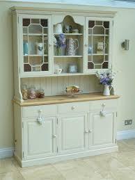 White Kitchen Dresser Unit Rustic Solid Pine Farmhouse Kitchen Welsh Dresser Shabby Chic