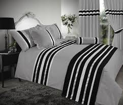 charcoal silver black stylish duvet cover luxury beautiful glamour sparkle egyptian cotton bedding