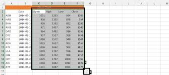 Stock Chart Tutorial Best Excel Tutorial Stock Chart