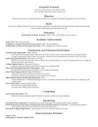 academic resume lizzy traband academic resume 2014