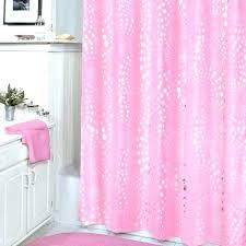 hot pink shower curtain plastic liner hooks paris chevron o hot pink shower curtain