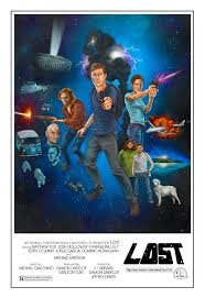 lost is the new star wars poster lost in comics click to see bigger