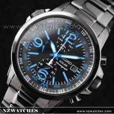 seiko solar alarm chronograph black mens sport watch ssc075p1 seiko solar alarm chronograph black ion plated mens sport watch ssc079p1
