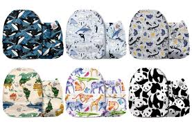 Bumgenius Color Chart 2017 Mama Koala One Size Baby Washable Reusable Pocket Cloth Diapers 6 Pack With 6 One Size Microfiber Inserts Travel Friends