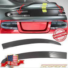 Scopione Carbon Fiber Tail Light Inserts For Aston Martin 05 19 Vantage Db9 Dbs Ebay