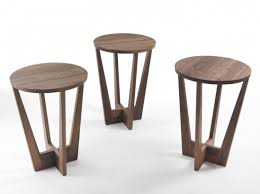 alight small round wooden high side table parlariva design regarding awesome round wooden accent table for your home design