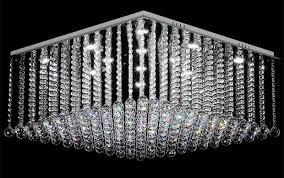 square design modern chandelier crystal chandelier lighting flush led light re home chandeliers