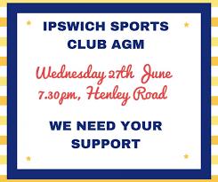 Ipswich Sports Club Agm News Ipswich Seven Hockey Club