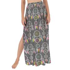 Dream Catcher Rules Dreamcatcher Maxi Sarong Skirt Rainbow Rules 77