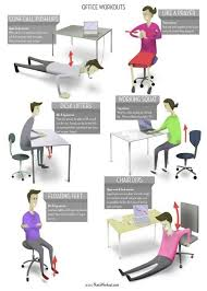 stretches to do at your desk new exercise