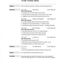 Sample Resume Template Free Examples With Writing Tips Sa Myenvoc