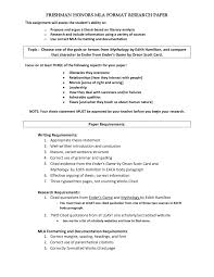 Mla Style Thesis Citation Bestf Research Paper In Format How To