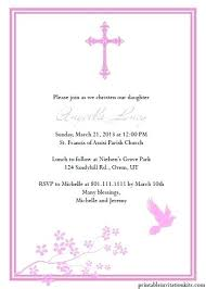 Catholic Baptism Invitations Baptism Invitations For Girls Catholic Baptism Invitations Girl