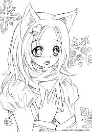 Chibi Coloring Pages Collection Of For Adults Download Them And Try