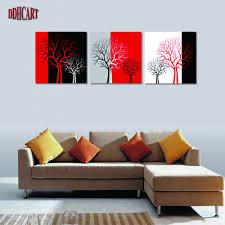 Modern Paintings For Living Room Modern Tree Paintings Promotion Shop For Promotional Modern Tree