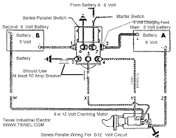 series parallel switch wiring diagram wiring diagram for you • parallel 6 volt series wiring diagrams simple wiring schema rh 25 aspire atlantis de delco series