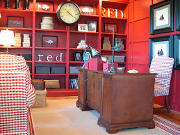 red home office. seeing red home office c