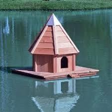 Duck house  Ducks and Mallard on PinterestHeartwood AquaDuck Floating Duck House
