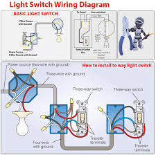 Electric Switch Wiring Diagrams Simple Switch Wiring Diagram