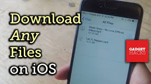Download Save Almost Any File Type Onto Your Iphone How To