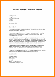 Cover Letter 1 Year Experienced Software Developer Cover Letter
