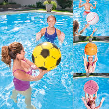 beach ball in ocean. Bestway Children Inflatable Beach Ball Basketball Soccer Modelling Adult Water Toys Large Ocean In E