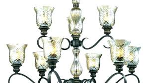 chandelier glass shades inspiring replacement for chandeliers co pendant home depot