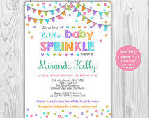 Sprinkle Shower  Uh Oh PasghettioBaby Shower Sprinkle Ideas