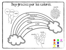 Food Coloring In Spanish Coloring Pages Food Coloring Into Spanish