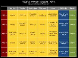 t25 workout calendar focus t25 workout schedule calendar