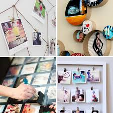20 best DIY photo display ideas - these are really cool! I love #7