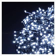 White Led Tree Lights Led Christmas Lights 1200 Cold White 220v External 48 M