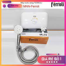Máy nước nóng Ferroli, máy nước nóng trực tiếp chống giật Ferroli Rita TE - Máy  nước nóng