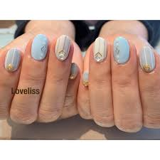 At Nailloveliss Nail Loveliss Stripe ワンカラー